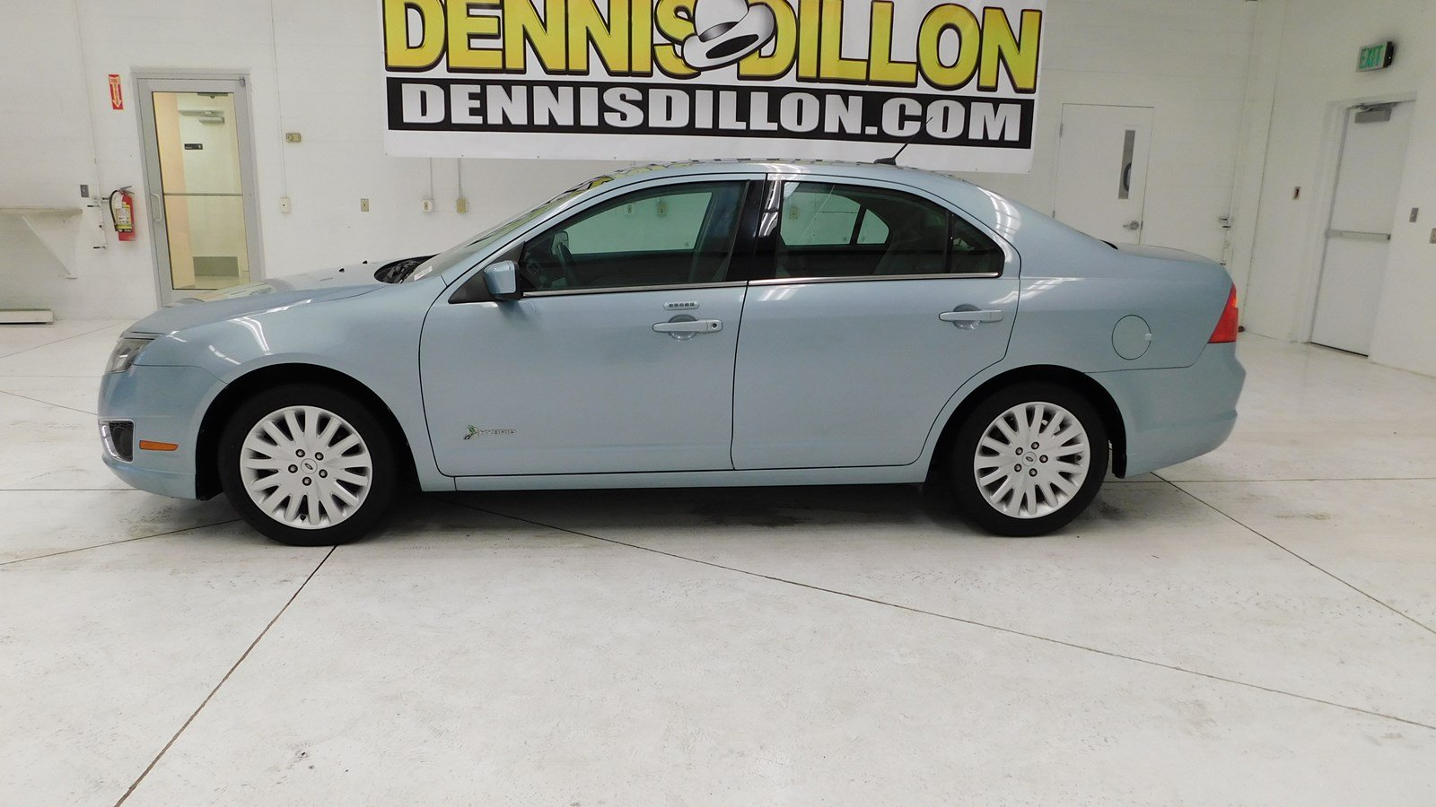 pre-owned 2011 ford fusion hybrid 4dr car in boise #m01618p | dennis